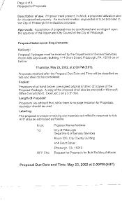 Rfp Response Cover Letter Resume Badak