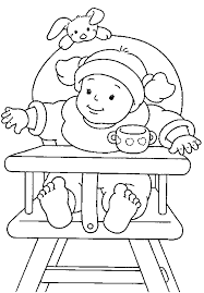 Small Picture Free Printable Baby Coloring Pages For Kids