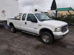 2005 Ford F350 Cab Lights 2005 Ford F350 White Extended Cab Pickup Diesel