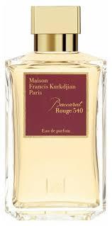 Парфюмерная <b>вода Maison</b> Francis Kurkdjian Baccarat Rouge 540 ...