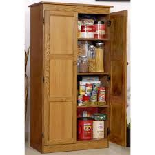 kitchen tall wood kitchen storage cabinet with doors for