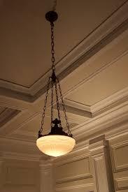 Original 1920's light fixtures. Centralia Square