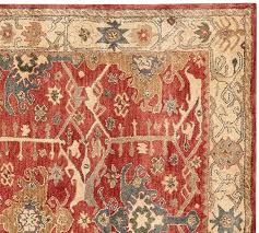 channing persian style rug pottery barn with area rugs prepare 3