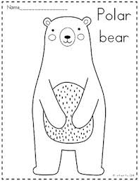 Arctic Animals Coloring Pages By The Kinder Kids Tpt