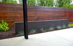 Modern Water Features Modern Steel Arbor And Poured Concrete Water Feature In Denvers