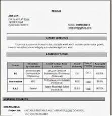Objective In Resume For Software Engineer Fresher Resume Template of a Computer Science Engineer Fresher with Great 60