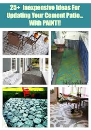 painting a cement slab or walkway