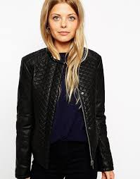 Asos Collection Bomber Jacket In Quilted Leather Look | Where to ... & ... Asos Collection Bomber Jacket In Quilted Leather Look ... Adamdwight.com