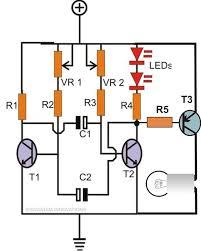 how to make any light a strobe light using just two transistors Truck Strobe Light Diagram flashlight strobe light circuit using transistors Light Circuit Diagram