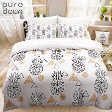 puredown 100 egypt cotton duvet cover set printed luxury oriental bedding set king queen size duvet cover bedsheet pillowcase comforters duvet covers