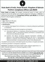 Cover Letter Bank Compliance Officer Jobs Bank Compliance Officer