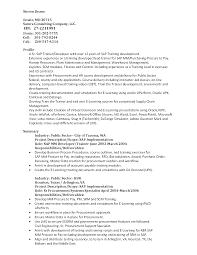 Instructional Designer Resume Sample Resume Sap Mm Training Instructional Designer Resume 20