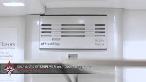 Kitchen Aid French Door Kitchen Aid Kfis29pbms French Door Refrigerator Youtube