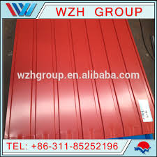 colored sheet metal colored steel sheet metal roof tile with micro wave buy corrugated