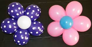 Decorating With Balloons Balloon Flower Youtube