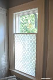 Decorative Windows For Bathrooms 17 Best Ideas About Bathroom Window Privacy On Pinterest Window