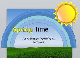 Spring Powerpoint Animated Spring Powerpoint Template