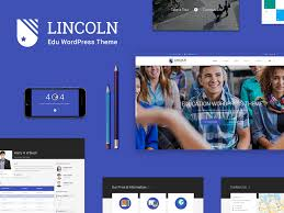 Website Templates Wordpress Mesmerizing Lincoln Best WordPress Template By LunarTheme Unoreduph