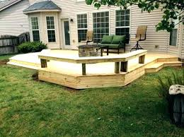 floating deck designs floating deck ideas ground level deck ideas pictures of wood decks for above
