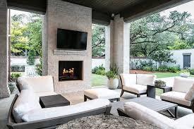 design an outdoor living space