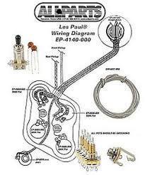 wiring kit for gibson® les paul complete w diagram cts pots image is loading wiring kit for gibson les paul complete w