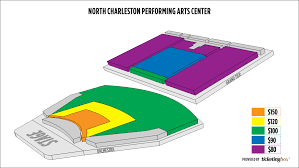 North Charleston Coliseum Seating Chart North Charleston North Charleston Performing Arts Center