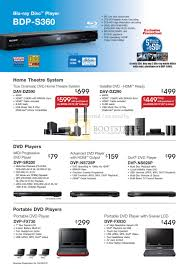 home theater sony price list. sitex 2009 price list image brochure of sony blu ray bdp s360 home theatre dav dvd. « theater