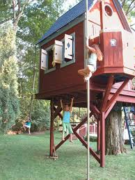 17 Awesome Treehouse Ideas For You And The Kids Inside Tree House
