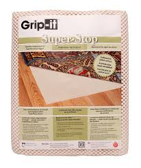 super stop is simply the best pad of this type on the market this pad keeps your rugs in place and has better grip then most of other pads
