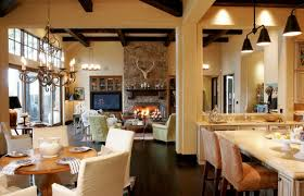 Kitchen And Living Room Designs Ranch House Design Ranch House Design Ideas