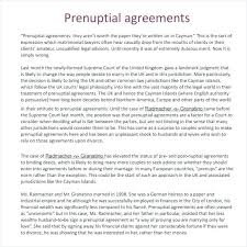 Premarital Agreement Template Or Prenup Prenuptial Free Uk