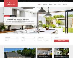 real state template best real estate website templates to sell properties 2018 templatemag