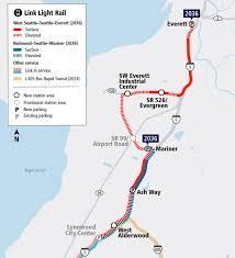 Lynnwood Light Rail Could Seattle Light Rail Tunnels Delay The Link To Everett