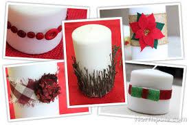 Easy Candle Embellishments