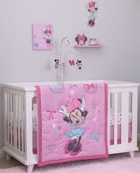 disney minnie mouse piece crib bedding set all about the bows baby sets out stock princess