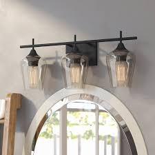 Vanity lighting Chrome Wayfair Mercury Row Hickerson 3light Vanity Light Reviews Wayfair