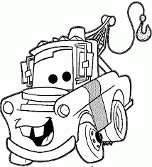 Small Picture Pretentious Design Mater Coloring Page 7 Printable Disney Cars Tow