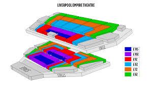Empire Seating Chart Ticketingbox Shen Yun 2020 Liverpool Uk Shen Yun
