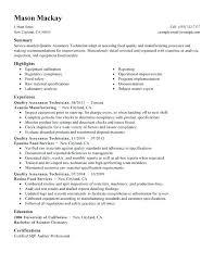 Sample Resume For Quality Analyst In Bpo