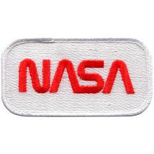 NASA Worm Fully Embroidered – Space Patches