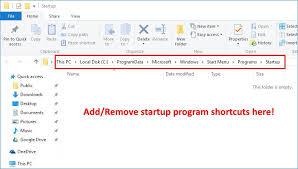 Where Is The Startup Folder In Windows 10 Scotties Tech Info