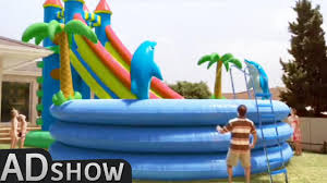 pools for kids. Perfect Kids Dad Buys GIANT POOL For His Children For Pools Kids A