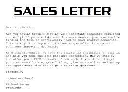 Introductory Sales Letter Under Fontanacountryinn Com