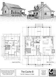 Stunning Log Cabin Home Floor Plans Ideas  Home Design IdeasCabin Floor Plans