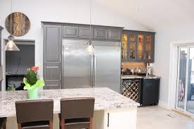 Built In Wine Racks Kitchen Full Custom Kitchen In Coldwater Custom Kitchens And Bathrooms