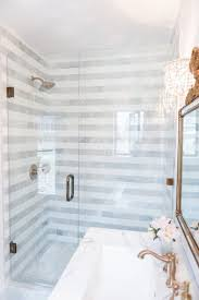 B Examples Of Striped Bathroom Tile Jobs Stripes In The Shower   Centsational Girl