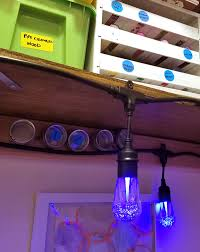 craft room lighting. check out the secret to making a craft room in closet work even though lighting r