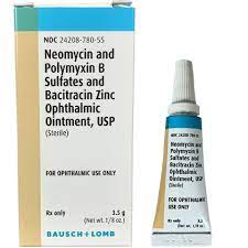 over the counter eye drops for infection