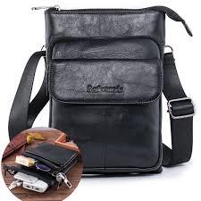 leather messenger shoulder everyday satchel