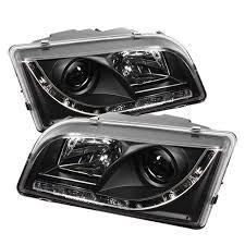 Volvo S40 Lights Spyder Auto Volvo S40 Black Drl Led Projector Headlight